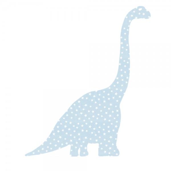 Inke Tapetentier Diplodocus hellblau Sterne
