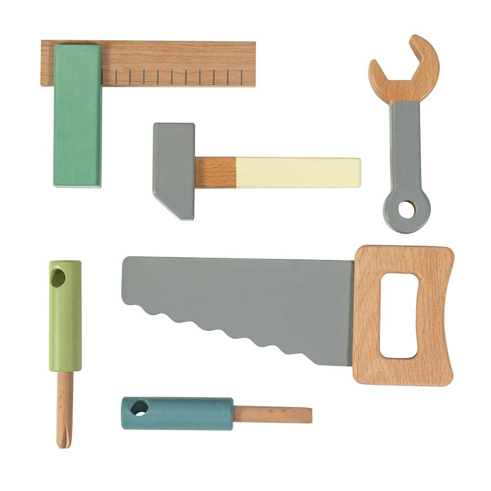 Sebra Kinder Werkzeug-Set Holz bei kinder räume