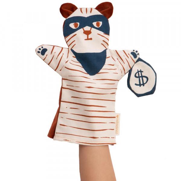 Nobodinoz Handpuppe Tiger