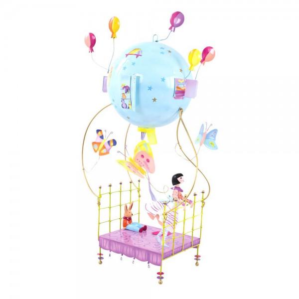 L' Oiseau Bateau Mobile Heissluftballon fliegendes Bett