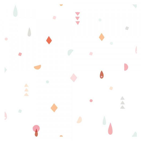 Lilipinso Vlies Tapete Geometrische Muster pastell