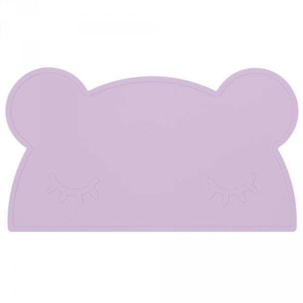 We Might Be Tiny Kinder Tischset Silikon Bär lila