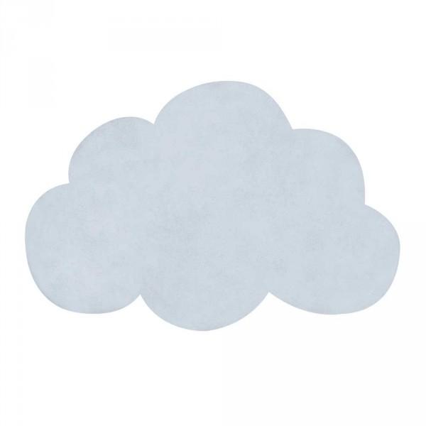 Lilipinso Teppich Wolke hellblau