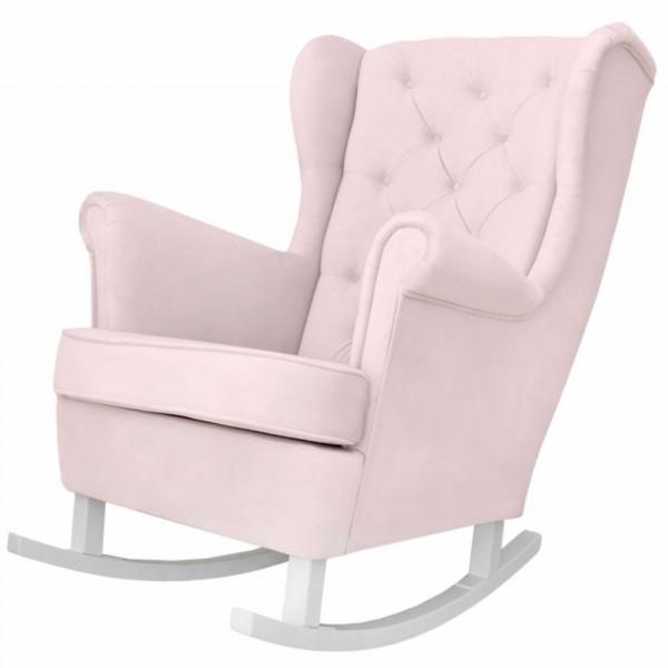 Caramella Schaukelstuhl / Stillstuhl rosa
