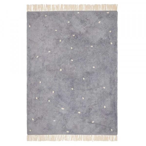 Little Dutch Teppich Punkte blau 170 x 120