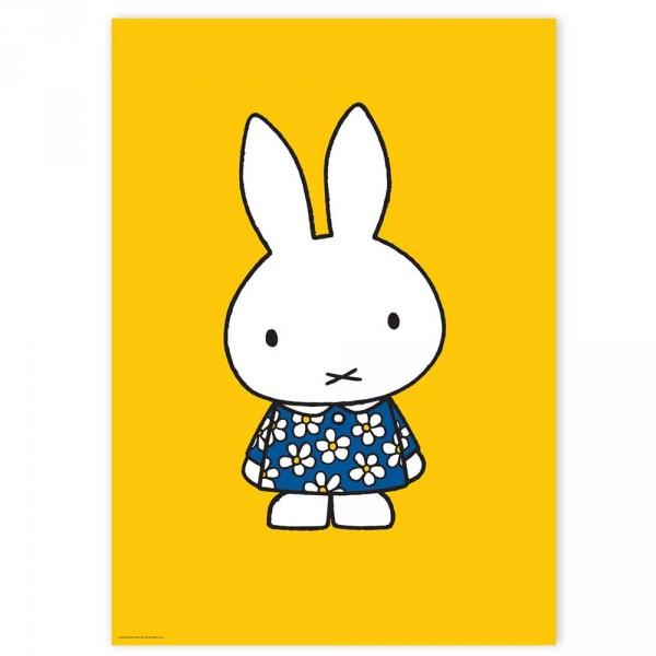 Kek Amsterdam Kinderposter Miffy gelb