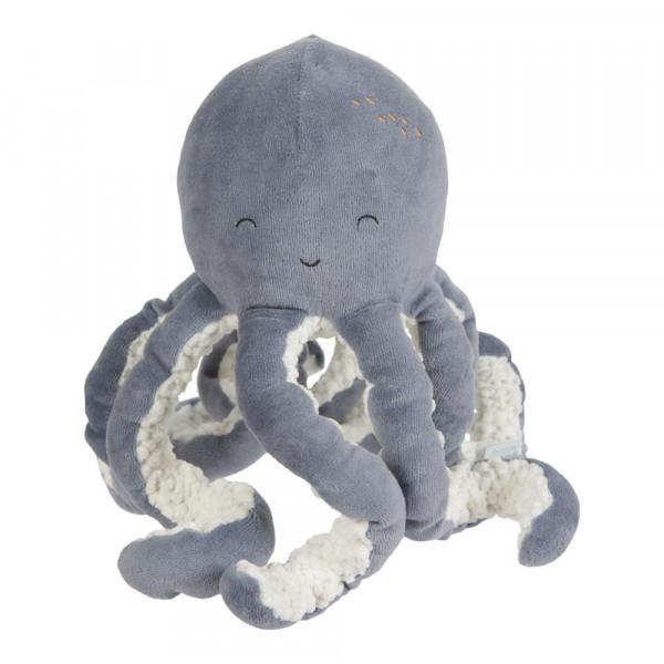 Little Dutch Kuscheltier Oktopus Ocean blau