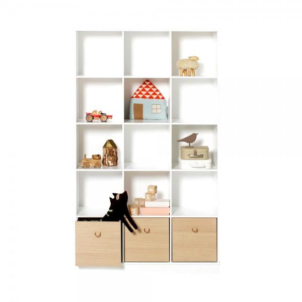 Oliver Furniture Wood Standregal hoch