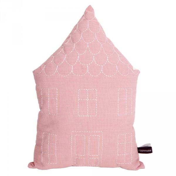 Roommate Dekokissen Haus rosa