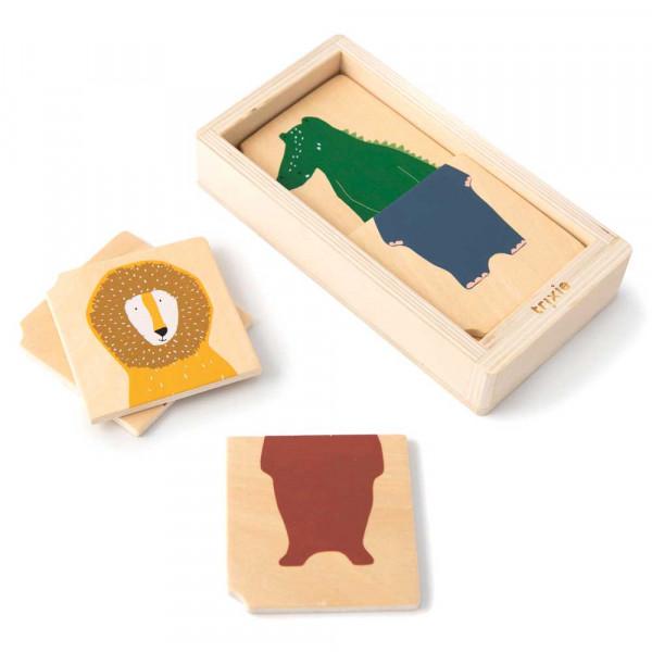 Trixie Puzzle Tier Combo Holz