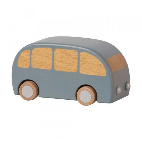 Maileg Holz Spielzeugauto Bus blau