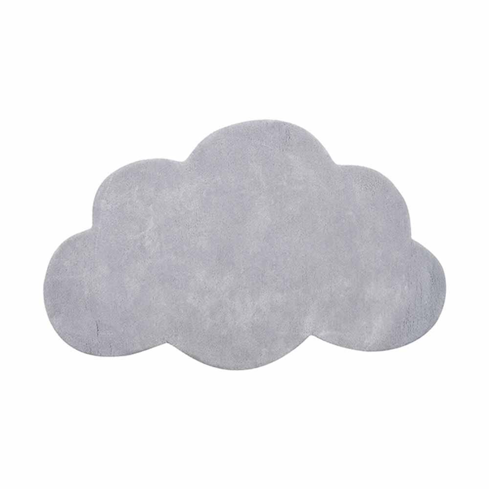 Lilipinso Teppich Wolke Hellgrau Bei Kinder Raume