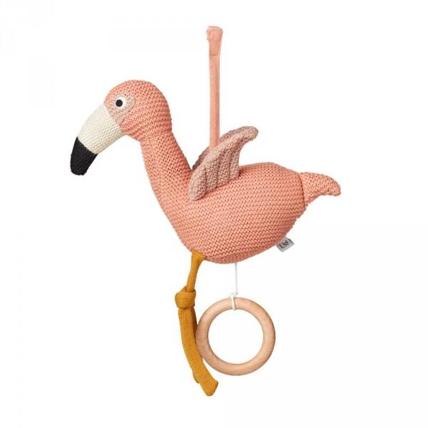 """Liewood """"Angela"""" Spieluhr Flamingo rosa"""