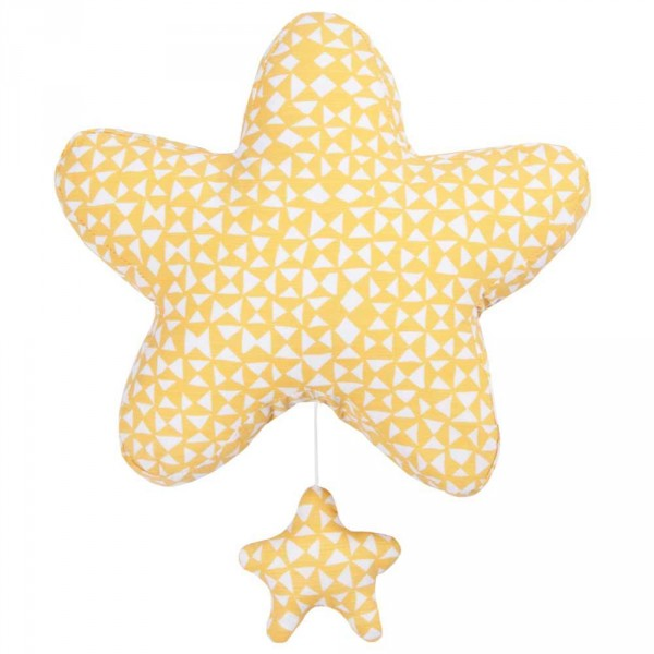 """Trixie Baby Spieluhr """"Diabolo"""" gelb Stern"""