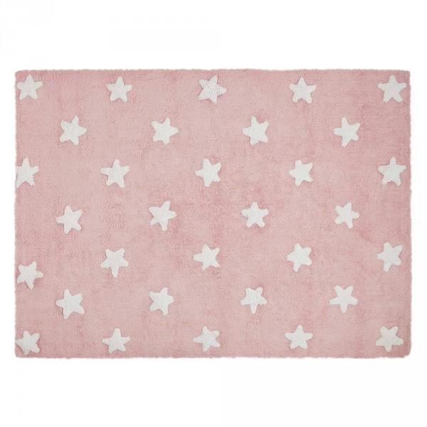 Lorena Canals Teppich Sterne pink