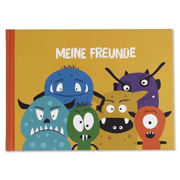 Ava & Yves Freundebuch Monster