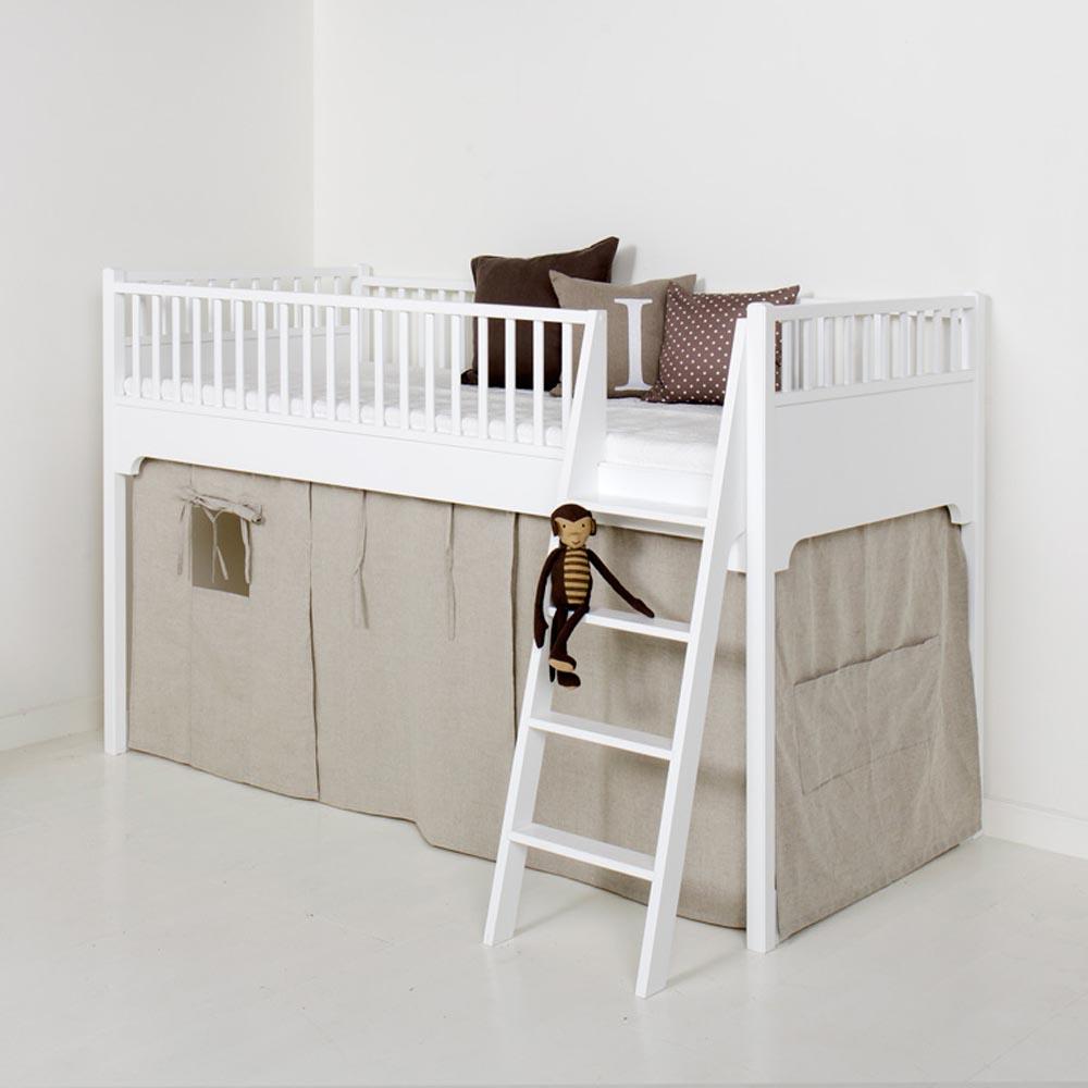 Oliver Furniture Vorhang Natur Fur Halbhohes Bett Bei Kinder Raume