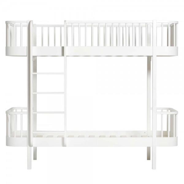 Oliver Furniture Wood Etagenbett weiß