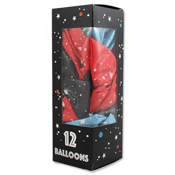 Ava & Yves Luftballons Weltraum