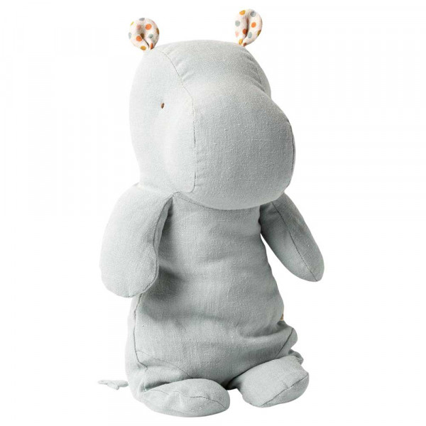 Maileg Stofftier Hippo blaugrau mittel