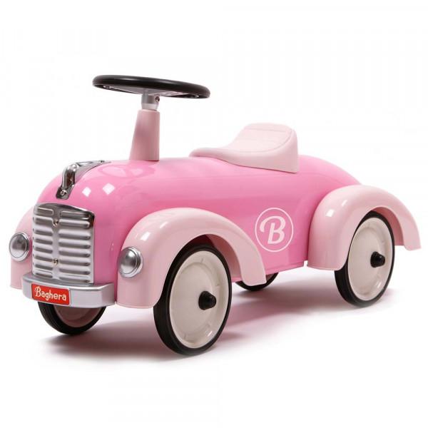 Baghera nostalgisches Rutschauto rosa