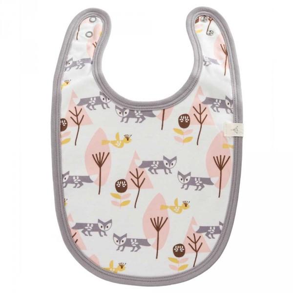 Fresk Babylätzchen Fuchs rosa