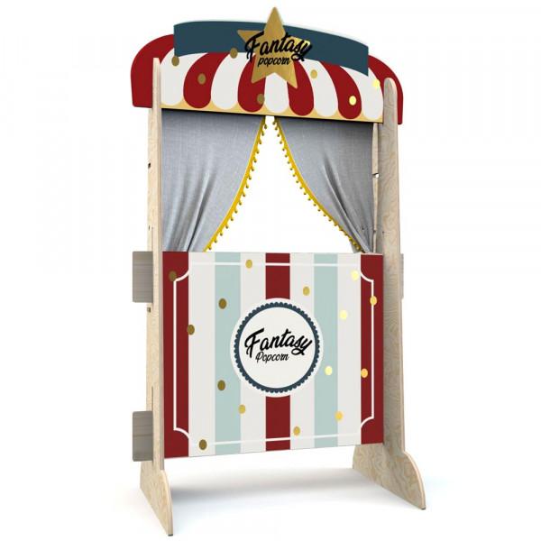 Dekornik Holz Spiel Theater Popcorn