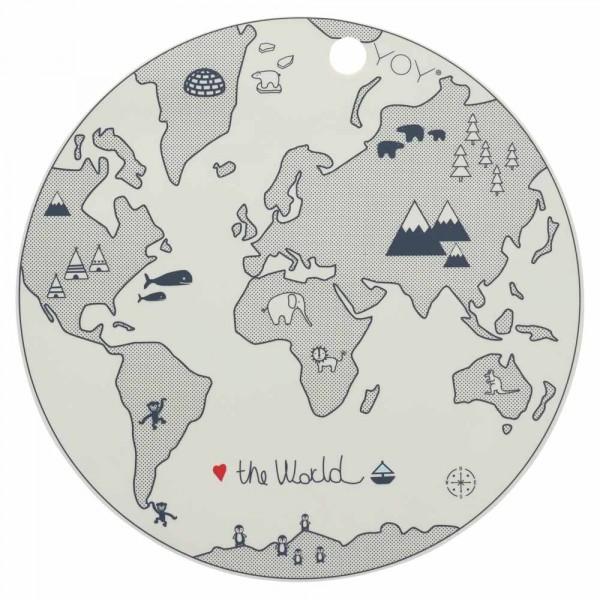 Oyoy Kinder Tischset / Platzset Weltkarte