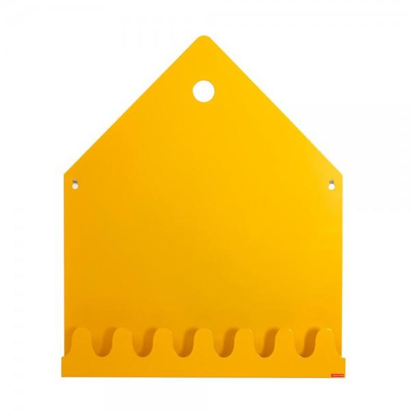 Roommate Magnetwand / Regal / Garderobe Villa Metall gelb