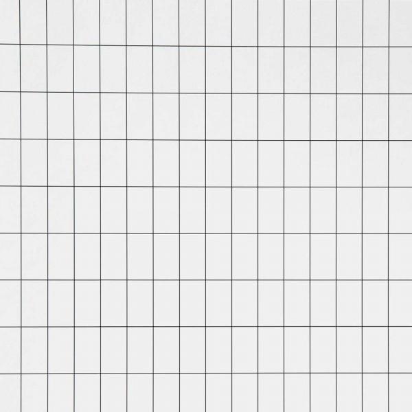 Ferm Living Tapete Grid schwarz weiss