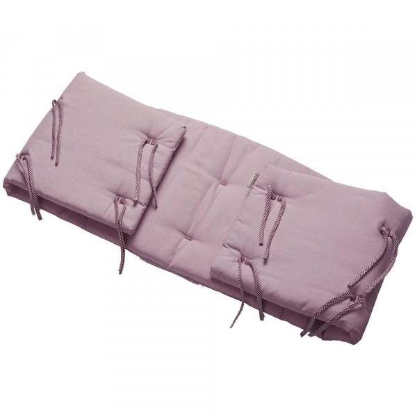 Leander Nestchen Organic für Babybett Classic rosa