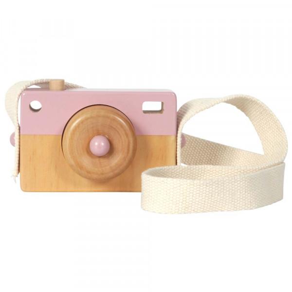 Little Dutch Holz Spielzeug Kamera rosa