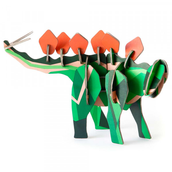 studio ROOF 3D Dinosaurier Stegosaurus Pappe
