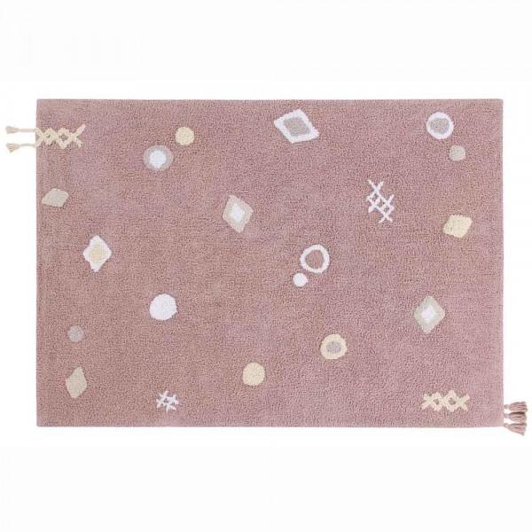 Lorena Canals waschbarer Teppich Noah rosa