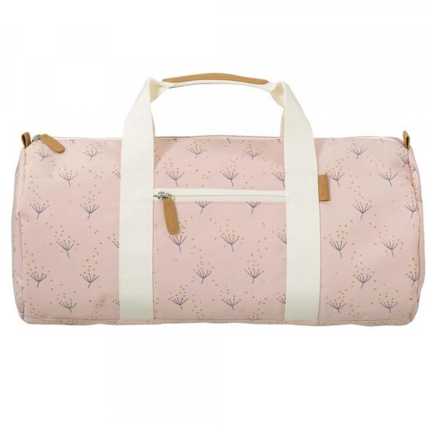 Fresk kleine Reisetasche Löwenzahn rosa