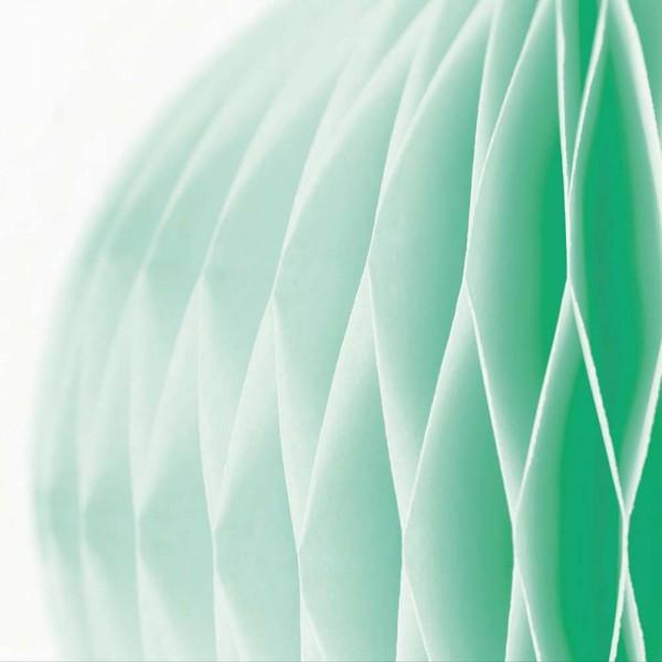 Eijffinger Tout Petit Tapeten Wandbild Pom Pom grün