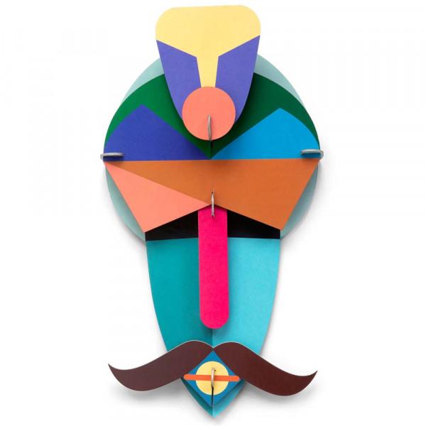 studio ROOF 3D Deko Maske Casablanca Pappe