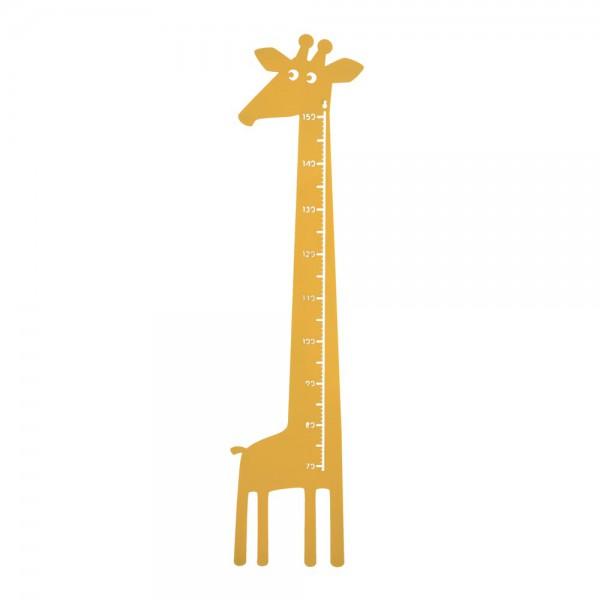 Roommate Messlatte Giraffe Metall gelb