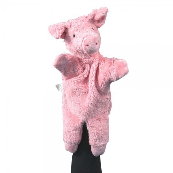 Senger Handpuppe Schwein rosa