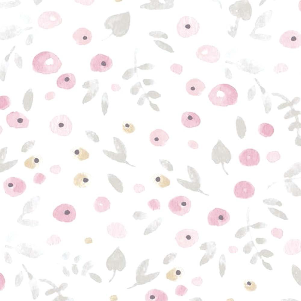 casadeco my little world tapete streubl mchen rosa grau. Black Bedroom Furniture Sets. Home Design Ideas