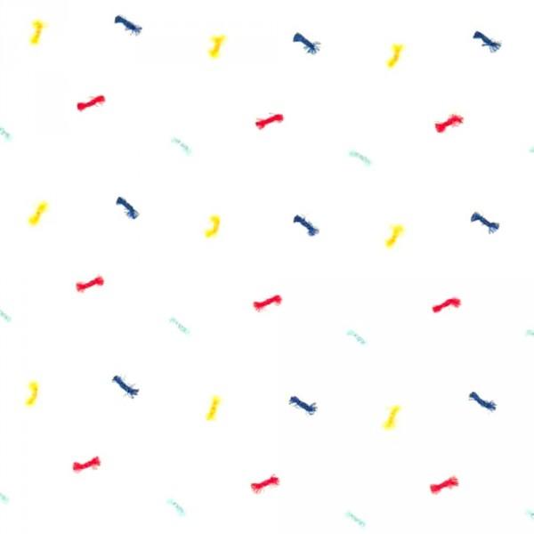 Scion Guess Who Voile Schleifchen rot blau gelb