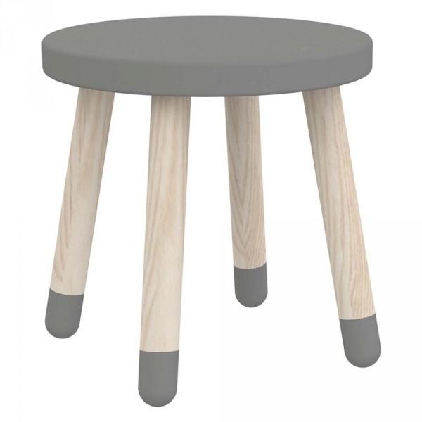 Hocker Holz rund