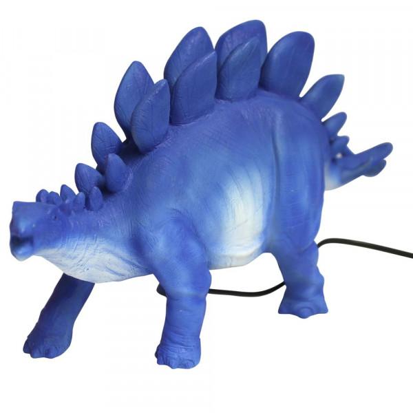 Nachtlicht Dinosaurier Lampe Stegosaurus blau