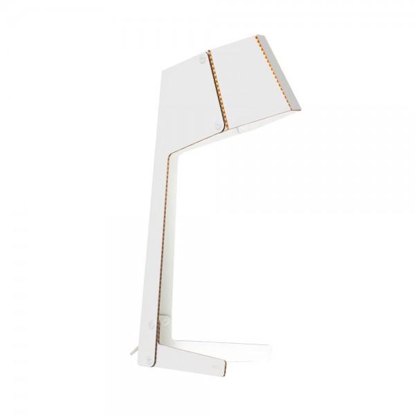 andbros Schreibtischlampe Pappe weiss