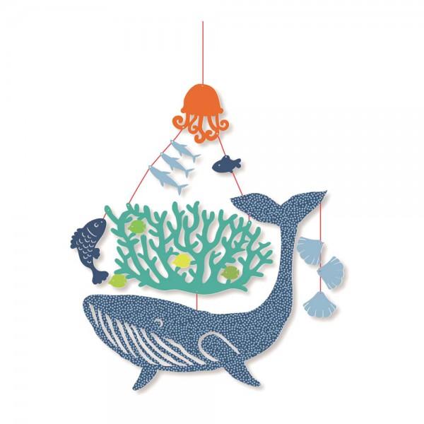 Djeco Kinder Mobile Unterwasserwelt