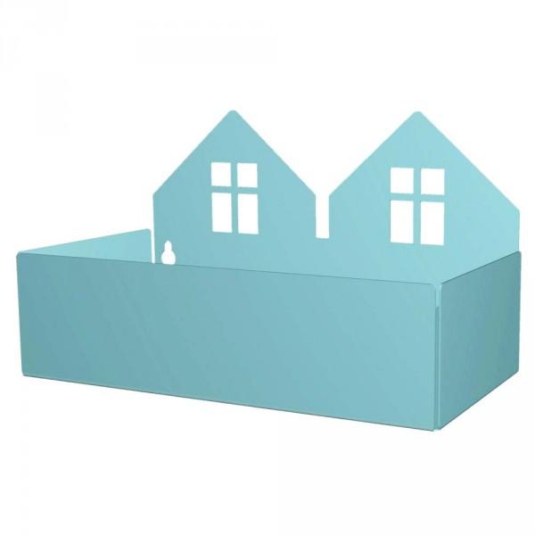 Roommate Wandregal Häuser mint