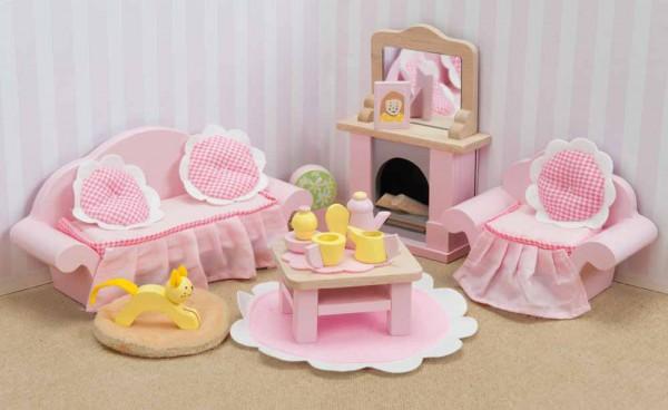 Le Toy Van Puppenhaus Zubehör Wohnzimmer Daisy Lane