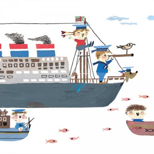 Kek Amsterdam Bordüre Schiffe