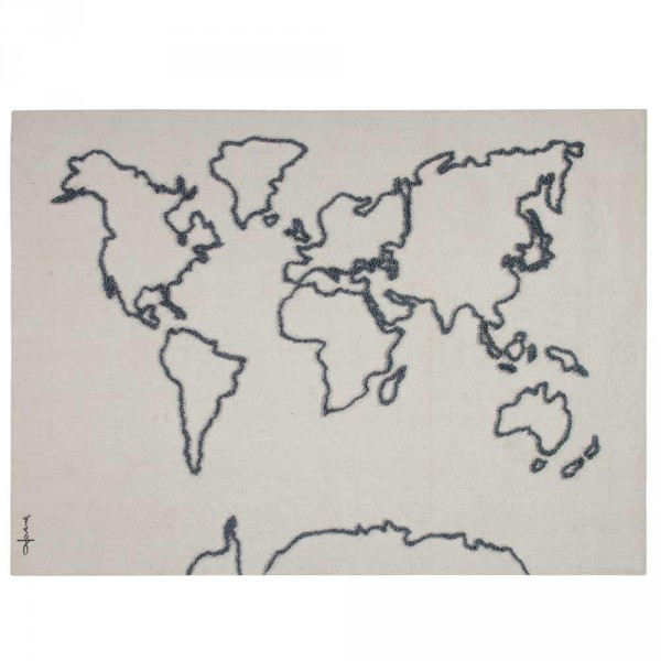 Lorena Canals Wandteppich Weltkarte