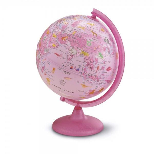 Räth Kinder Leuchtglobus pink